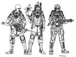 Imperial Army Troops.