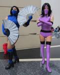 Mortal Kombat 2 Kitana and Mileena