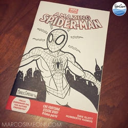 AMAZING SPIDERMAN #1 MARVEL NOW! variant cover by