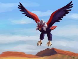 Desert Eagle by Umbrielle