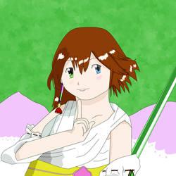 (A Copying Illust) Summoner Girl Yuna Part2