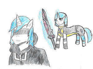 Shining armor and Riku will be Same Voice actor.