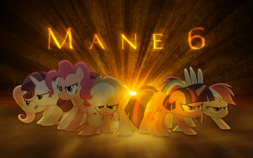 The Mane 6 by Vexx3