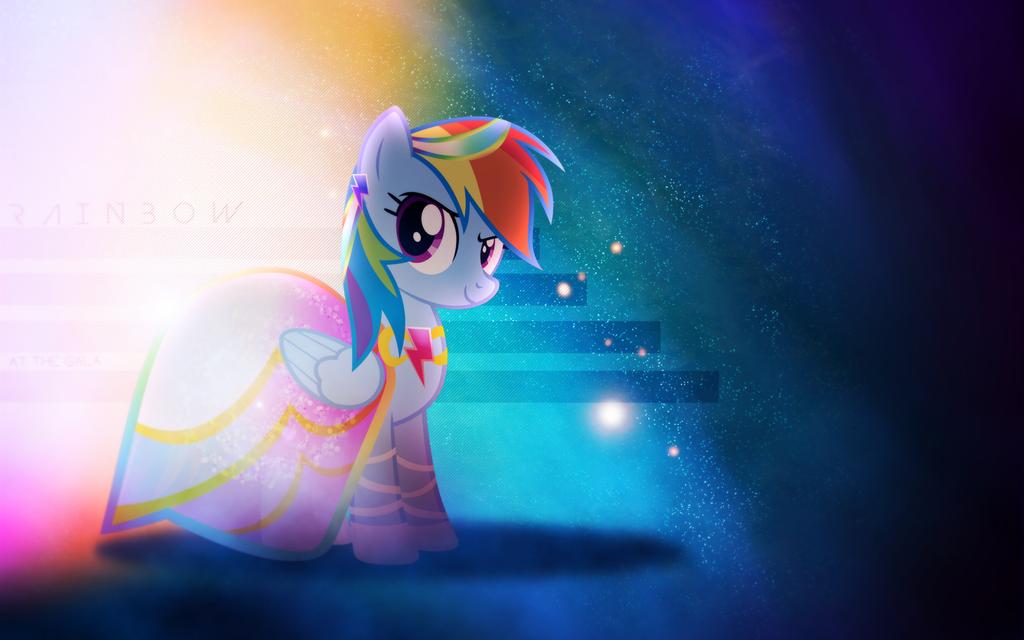 At the Gala | Rainbow Dash [Alternative] by Vexx3