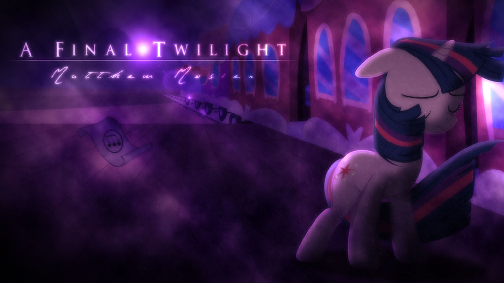 A Final Twilight- Matthew Mosier [Cover Art]