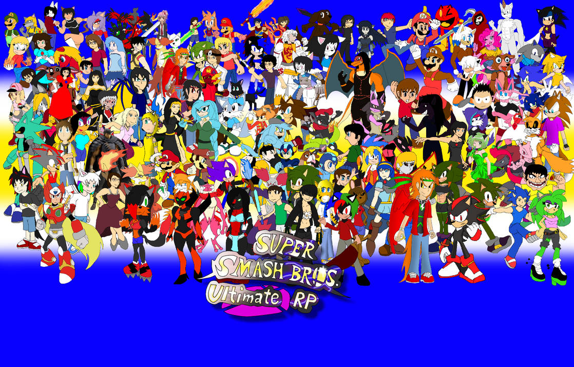 Super Smash Bros. Ultimate RP Wallpaper by XavierBro-13 on ...