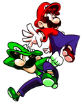 Mario and Luigi!