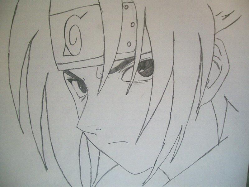 Sasuke Lineart : Sasuke lineart by samaire on deviantart