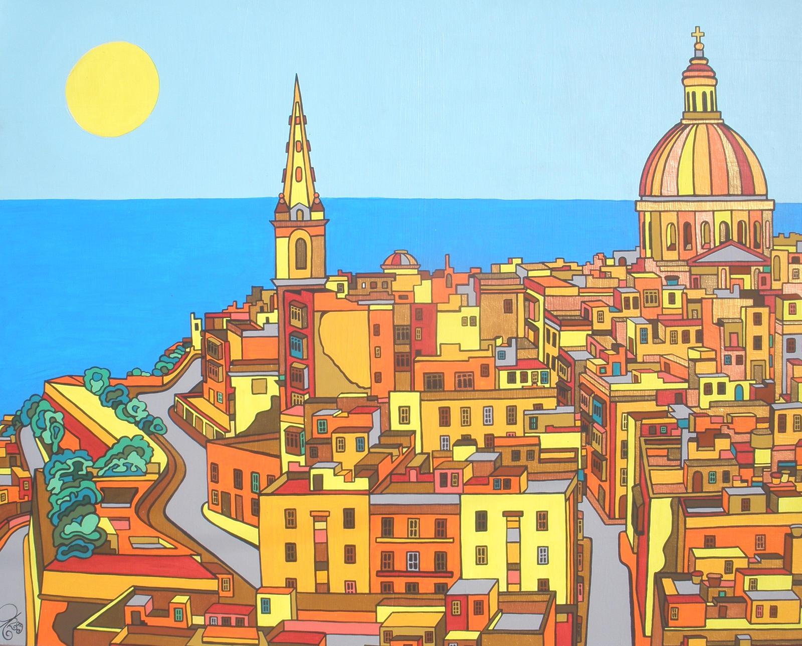 Valletta - Malta by Evilpainter