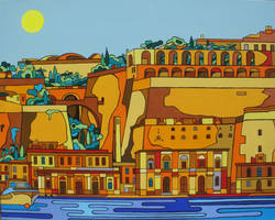 my side of Valletta