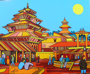NEPAL by Evilpainter
