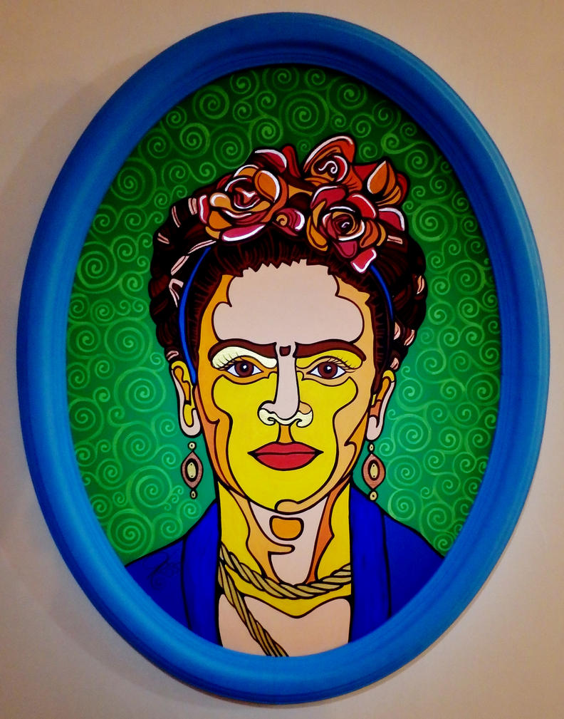 Frida Kahlo by Evilpainter