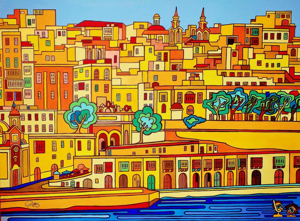 Victoria Gate - Valletta 2015 by Evilpainter