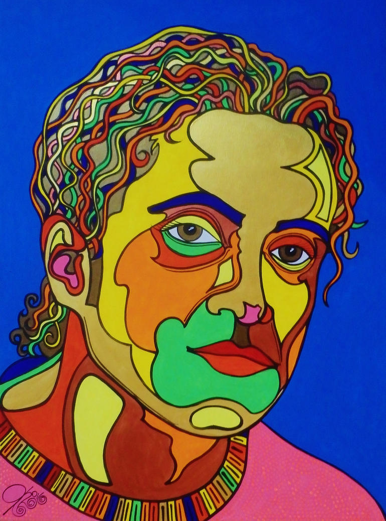 Ashraf Fayad by Evilpainter