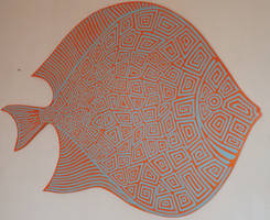 Discus fish by Evilpainter
