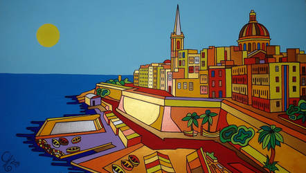 Valletta again and again by Evilpainter