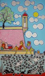 Romantic Picknick by Evilpainter
