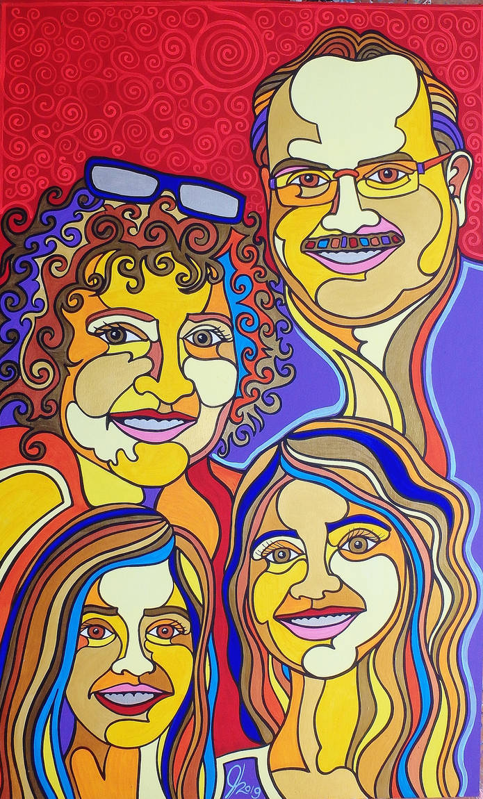 A New Zealand Family by Evilpainter