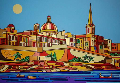 Valletta 100 x 70cm