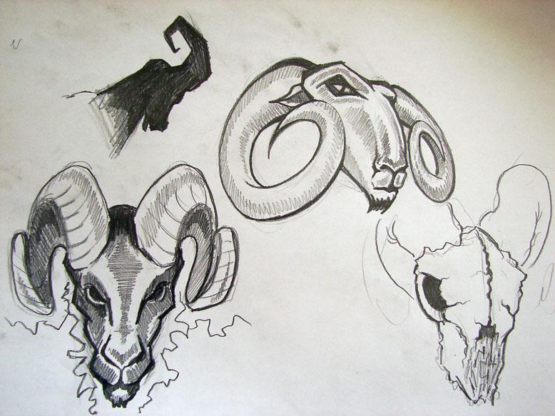 Aries drawings by strangeris on DeviantArt