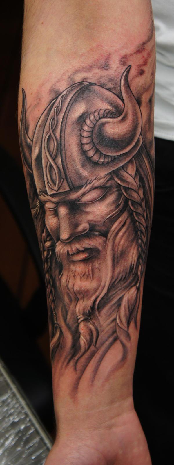 Viking tatt by strangeris on deviantart for Did vikings have tattoos