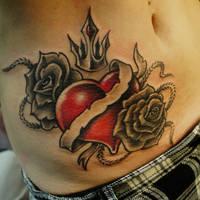 Heart by strangeris