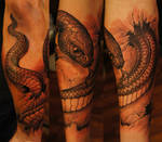 Snake halfsleeve