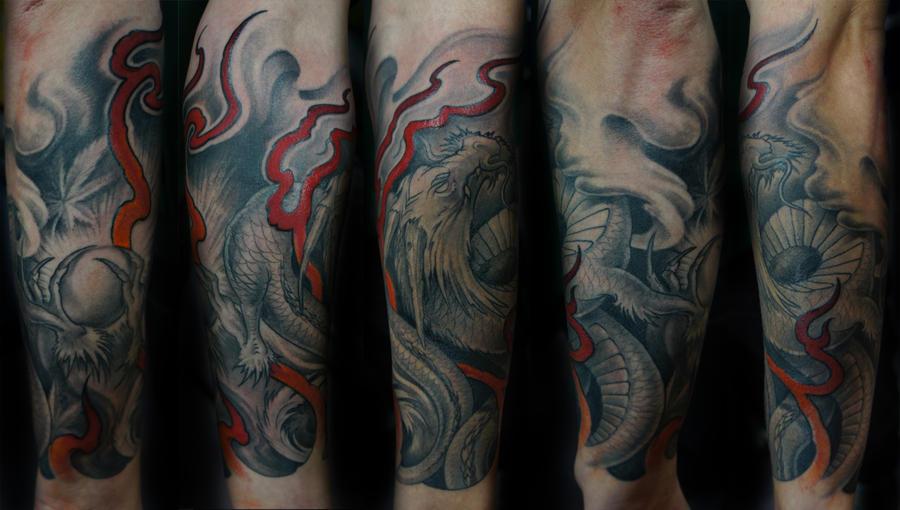 Dragon by strangeris