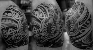 Polynesian cover-up