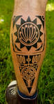 polynesian leg