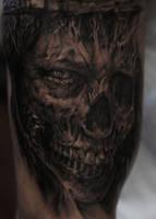 Skull by strangeris