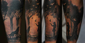 Forest sleeve
