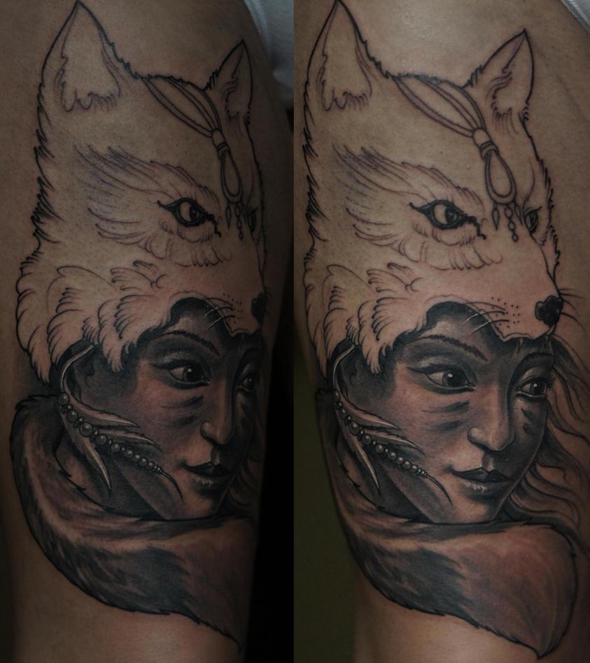 foxy wip by strangeris