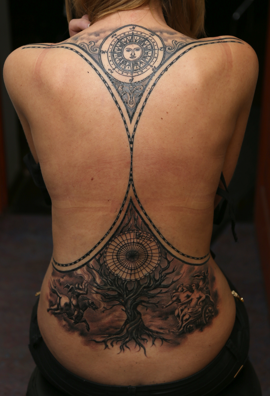 Old World Map Back Tattoo. World Map WIP by strangeris on DeviantArt