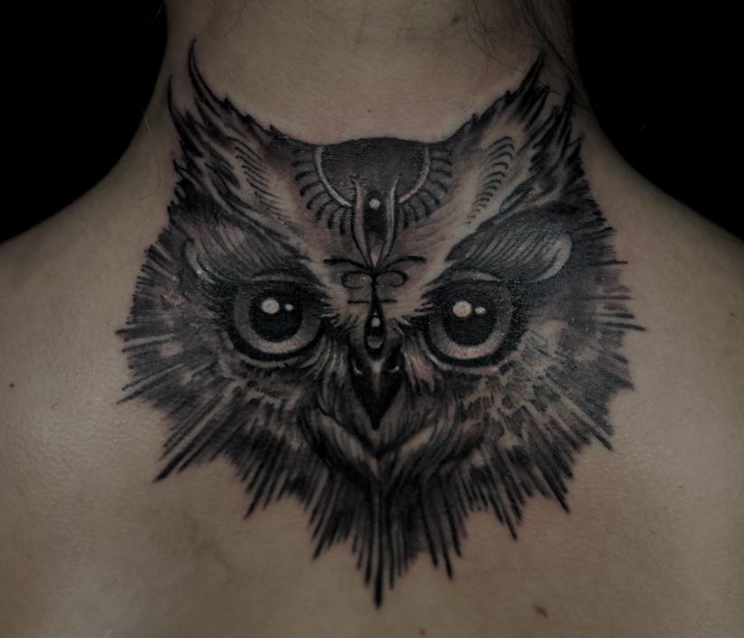 Owl by strangeris