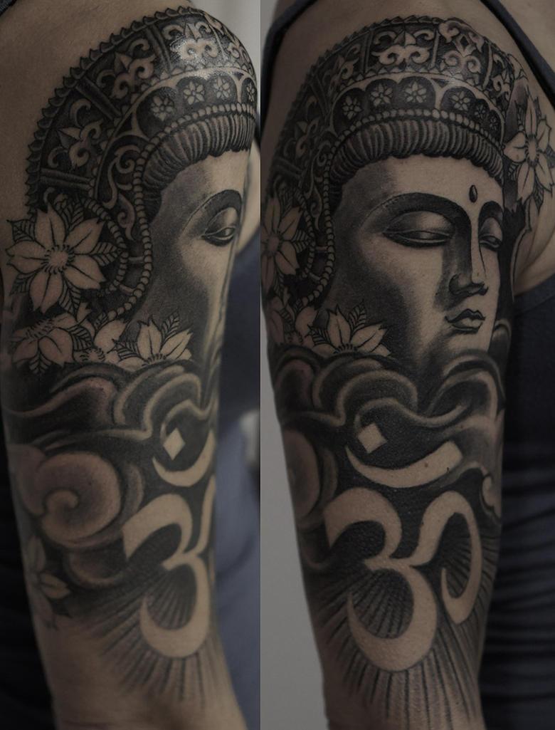 Buddha by strangeris