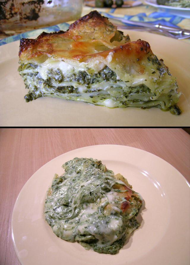 Lasagne - spinach by Bokor