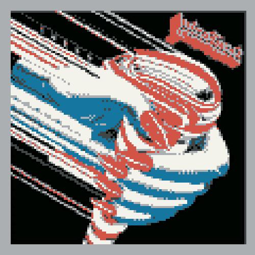 Judas Priest - turbo 8 Bit by acidzombie6516