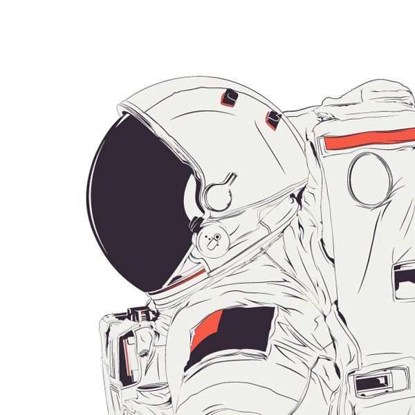 space suit drawing - photo #46