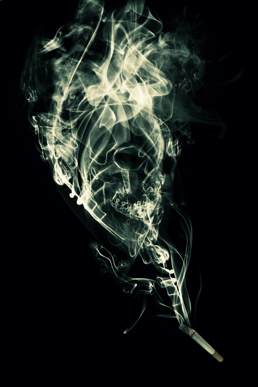 Deathly smoke by Imperfection22
