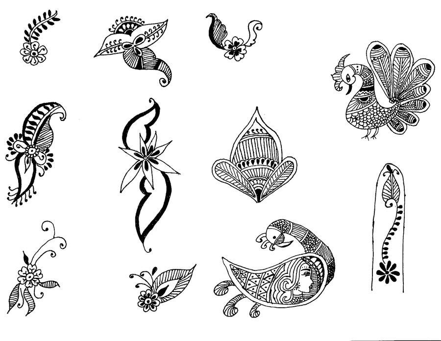 henna motifs indian by dmnq8 on deviantart. Black Bedroom Furniture Sets. Home Design Ideas