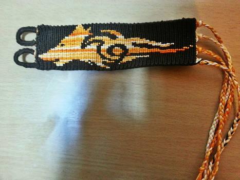 Tribal Wolf bracelet