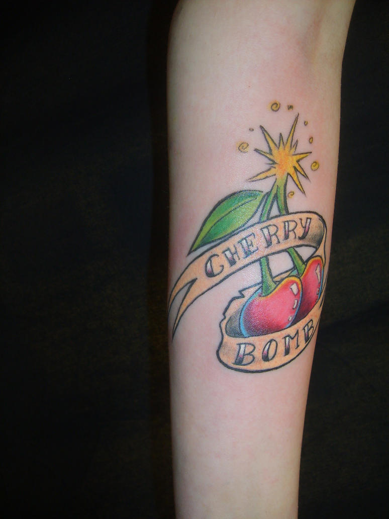 Cherry Bomb by SimplyTattoo