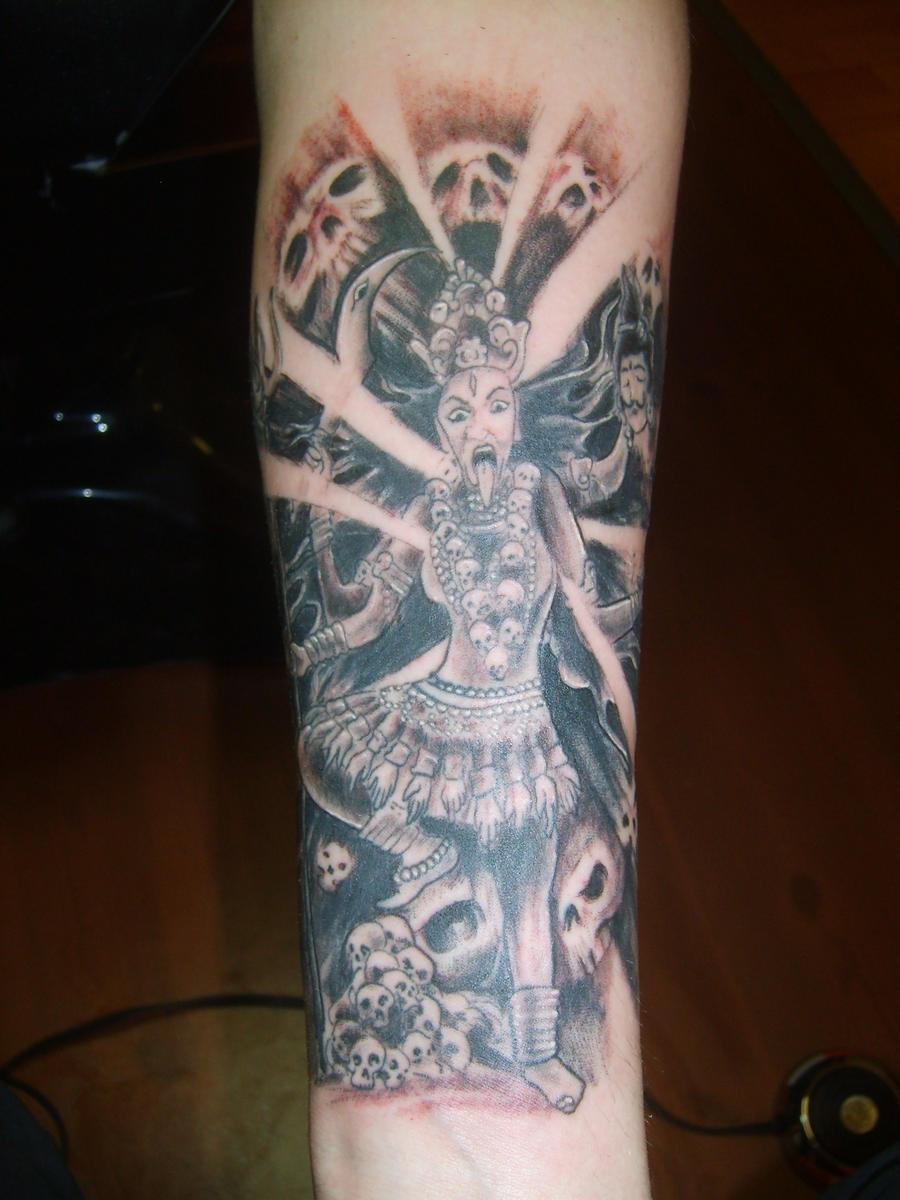 Maa Kali Tattoo