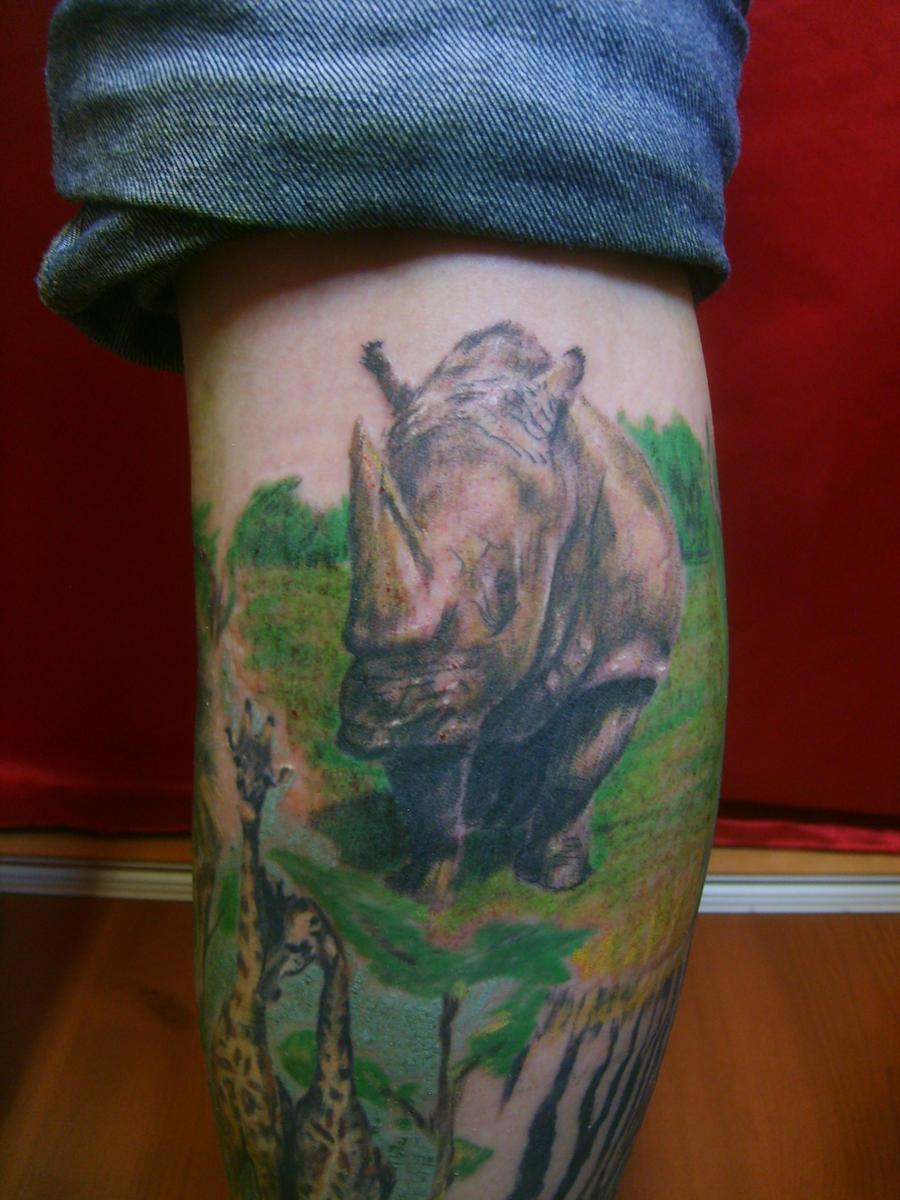 Rhino by SimplyTattoo