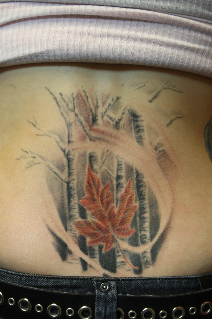 Finish canadian by SimplyTattoo