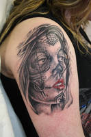 day of the dead girl by SimplyTattoo