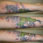 Squirt tattoo