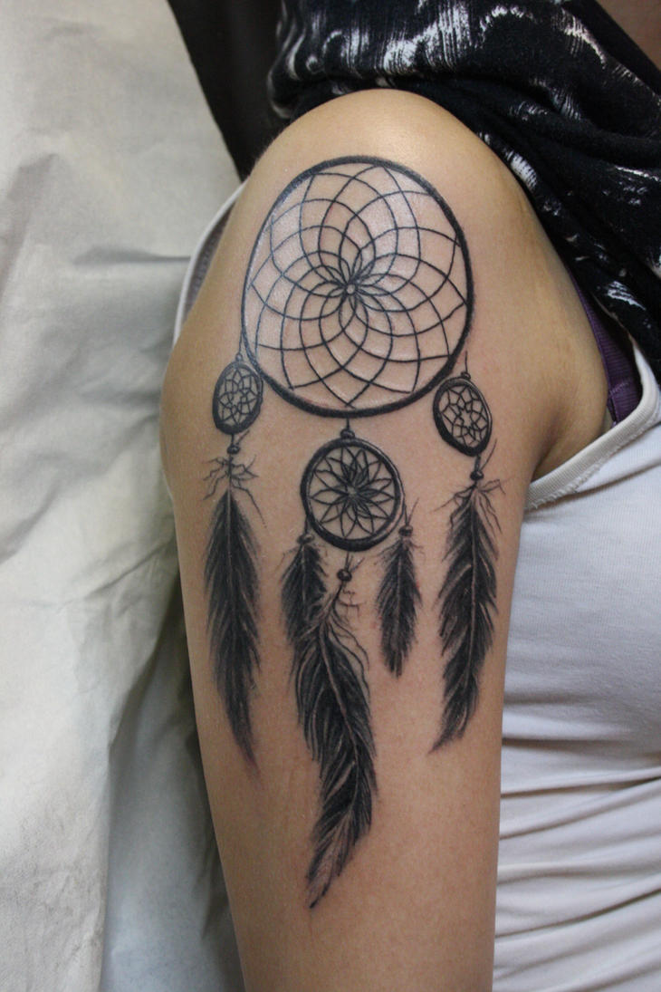dream catcher by SimplyTattoo