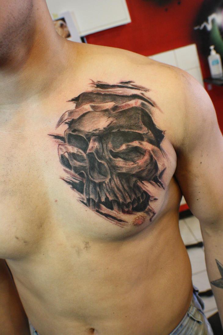 Couple Skull Tattoo Designs